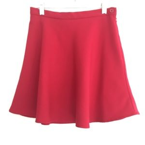 French Connection red skater's skirt SIZE 4